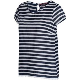 Regatta Jakayla Naiset Lyhythihainen paita , sininen/valkoinen